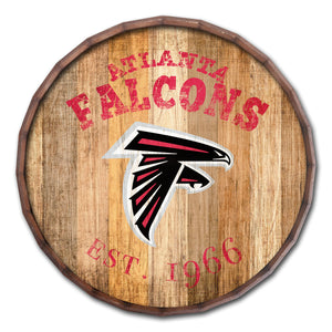 Atlanta Falcons Established Date Barrel Top -24""