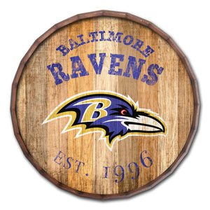 Baltimore Ravens Established Date Barrel Top -24""
