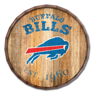 Buffalo Bills Established Date Barrel Top -24""