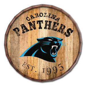 Carolina Panthers Established Date Barrel Top -24""