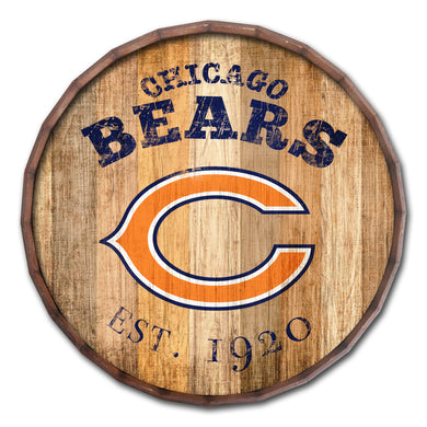 Chicago Bears Established Date Barrel Top -24