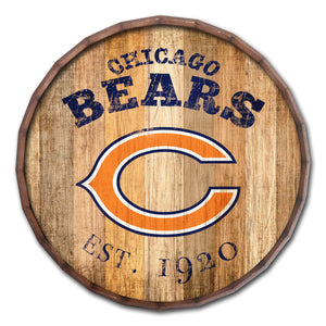 Chicago Bears Established Date Barrel Top -24""