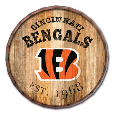 Cincinnati Bengals Established Date Barrel Top -24