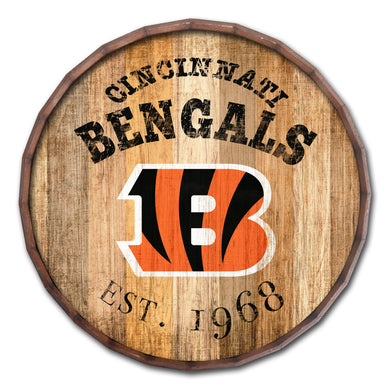 Cincinnati Bengals Established Date Barrel Top -16