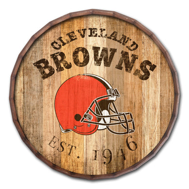 Cleveland Browns Established Date Barrel Top -16