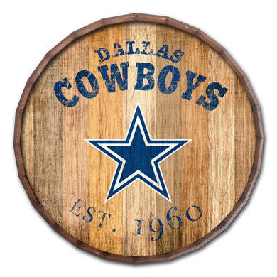 Dallas Cowboys Established Date Barrel Top -24