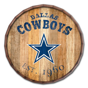 Dallas Cowboys Established Date Barrel Top -24""