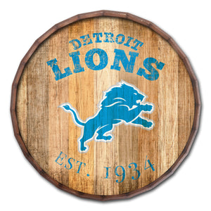 Detroit Lions Established Date Barrel Top -24""