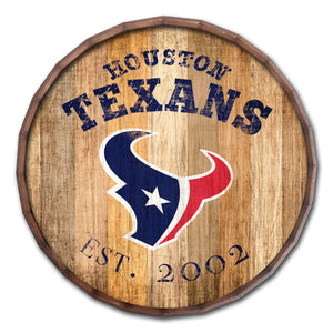 Houston Texans Established Date Barrel Top -24""
