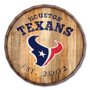 Houston Texans Established Date Barrel Top -16""