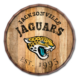 Jacksonville Jaguars Established Date Barrel Top -24""