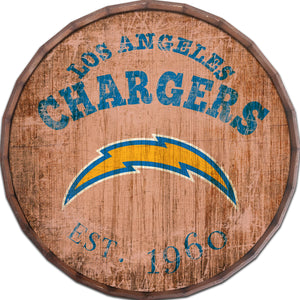 Los Angeles Chargers Established Date Barrel Top -24""
