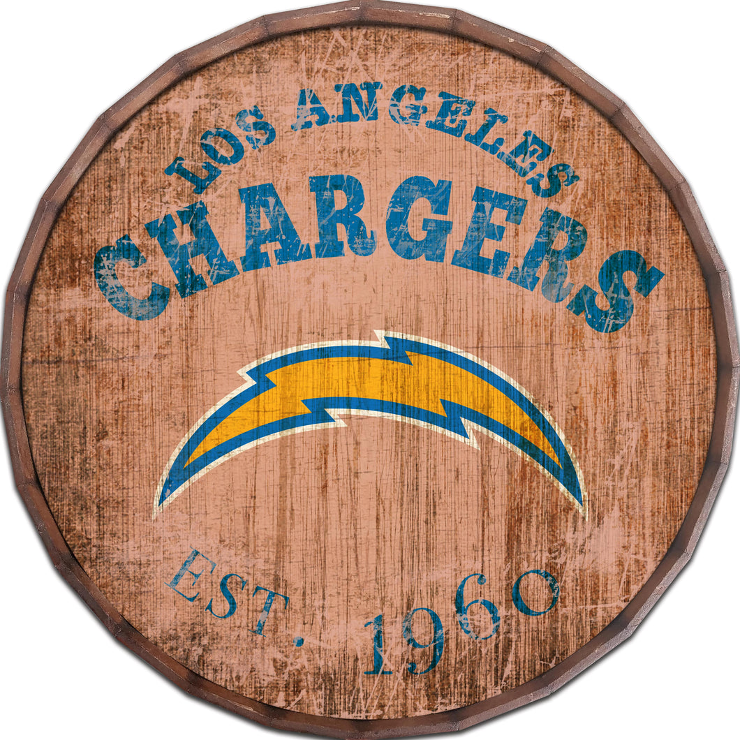 Los Angeles Chargers Established Date Barrel Top -24