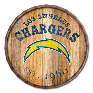Los Angeles Chargers Established Date Barrel Top -16