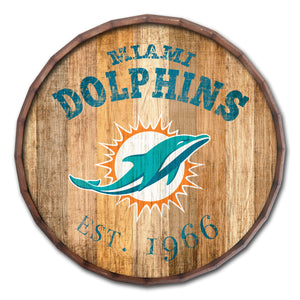 Miami Dolphins Established Date Barrel Top -24""