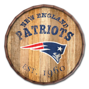 New England Patriots Established Date Barrel Top -24""
