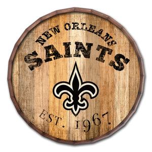 New Orleans Saints Established Date Barrel Top -16""