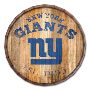 New York Giants Established Date Barrel Top -24""