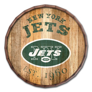 New York Jets Established Date Barrel Top -24""