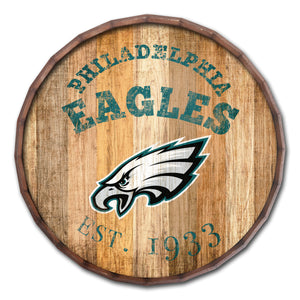 Philadelphia Eagles Established Date Barrel Top -24""
