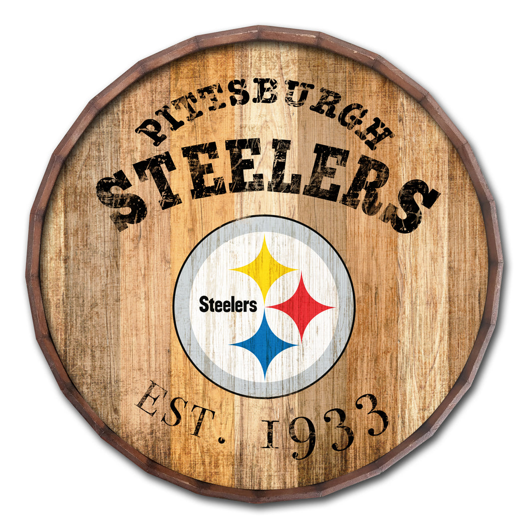 Pittsburgh Steelers Established Date Barrel Top -24