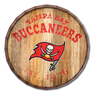 Tampa Bay Buccaneers Established Date Barrel Top -24""