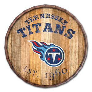 Tennessee Titans Established Date Barrel Top -24""