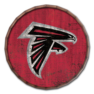 Atlanta Falcons Cracked Color Barrel Top -24""