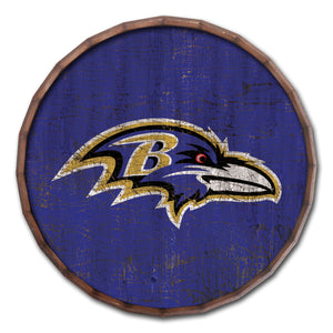 Baltimore Ravens Cracked Color Barrel Top -24""