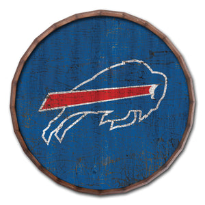 Buffalo Bills Cracked Color Barrel Top - 16""