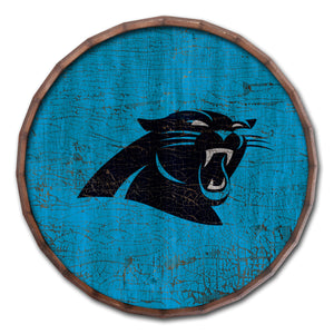Carolina Panthers Cracked Color Barrel Top -24""