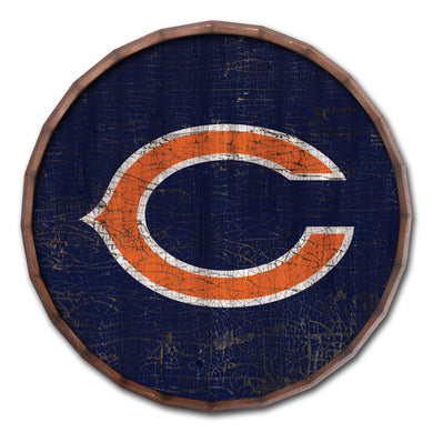 Chicago Bears Cracked Color Barrel Top -24