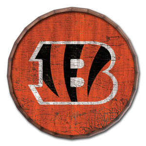 Cincinnati Bengals Cracked Color Barrel Top -24""