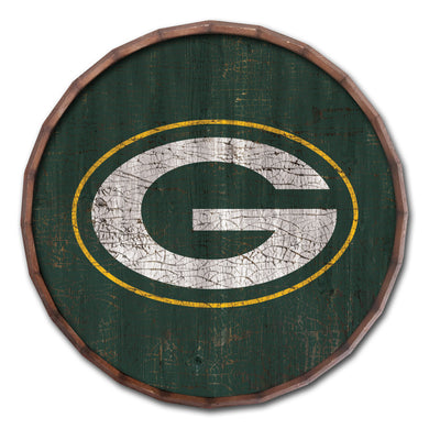 Green Bay Packers Cracked Color Barrel Top - 16