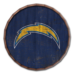 Los Angeles Chargers Cracked Color Barrel Top -24""