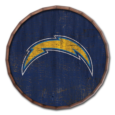 Los Angeles Chargers Cracked Color Barrel Top - 16