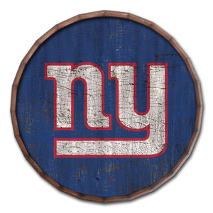 New York Giants Cracked Color Barrel Top -24""