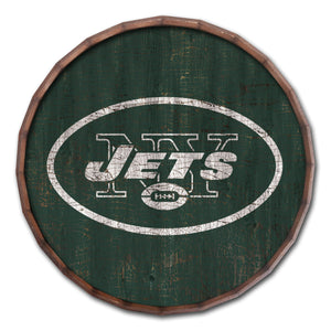 New York Jets Cracked Color Barrel Top - 16""