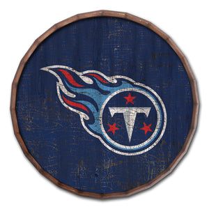 Tennessee Titans Cracked Color Barrel Top -24""