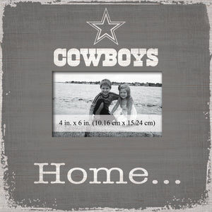 Dallas Cowboys Home Picture Frame