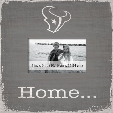 Houston Texans Home Picture Frame