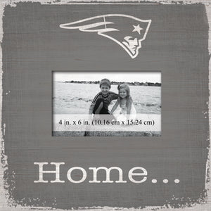 New England Patriots Home Picture Frame