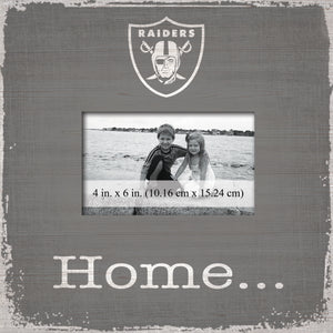 Oakland Raiders Home Picture Frame