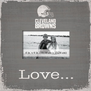 Cleveland Browns Love Picture Frame