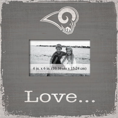 Los Angeles Rams Love Picture Frame