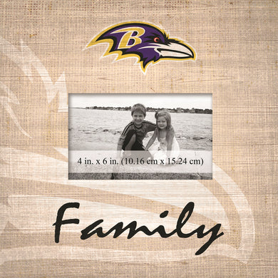 Baltimore Ravens Family Picture Frame