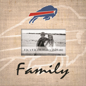 Buffalo Bills Family Picture Frame
