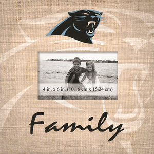 Carolina Panthers Family Picture Frame