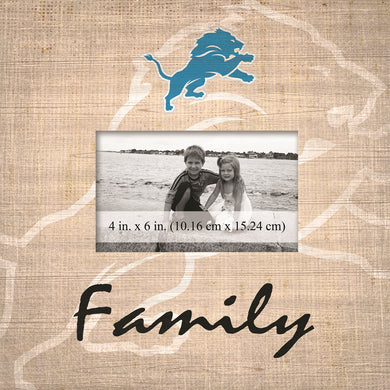 Detroit Lions Family Picture Frame