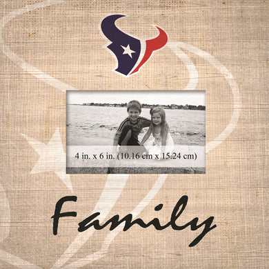 Houston Texans Family Picture Frame
